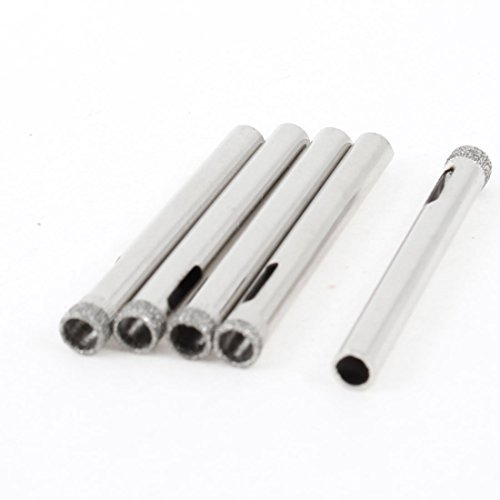 10x 3/16 5mm Diamond Coated Glass Marble Hole Saw Cutter Drill Bit Tile Granite
