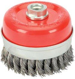 Draper 41447 60mm x M14 Twist Knot Wire Cup Brush