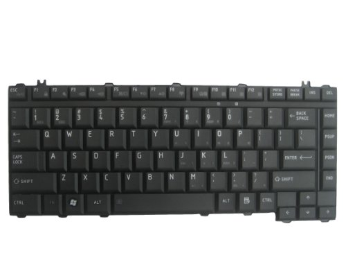 LotFancy Black keyboard for Toshiba Satellite A200 A205 A210 A215 A300 A300D A305 A305D L300 L300D L305 L305D A350 A355 A355D L205 L311 L312 L315 L317 L322 L323 L331 L332 L450 L450D L455 L455D L510 L515 M200 M202 M203 M205 (M320 Series Laptop Notebook Computers)