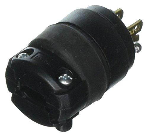 Leviton Grounding Plug 15 Amp - 12 Pack