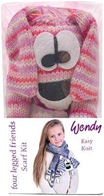 Wendy Scarf Kit Doogle Dog Schal-Set für einen Kinderschal