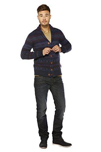 gilets cardigans kaporal 5 tenny bleu