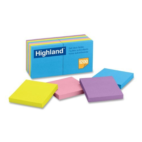 Post-it Super Sticky Notes, 2x Sticking Power, 3 x 3-Inches, Saffron, 5-Pads/Pack (654-5SSRR) for $<!--$8.00-->