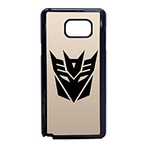 Unique Phone Cases Samsung Galaxy Note 5 Cell Phone Case Black Transformers Xblgz Plastic Durable Cover