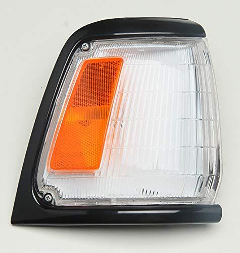 Corner Lamp with Bulb-R Black Paint 89-91 TOYOTA PICKUP 2WD 4RUNNER Passenger Side