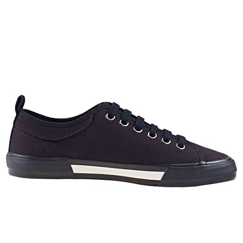 Basket Horton Canvas Noir B3190102 Fred Perry Blk 68qn1w