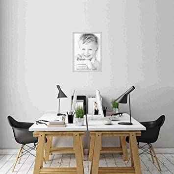 Amazoncom Arttoframes 20x28 Inch Off White Wash On Ash Wood