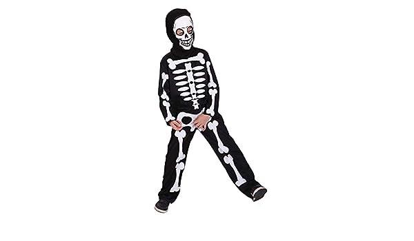 Romote Scary Trajes Esqueleto del Traje de Halloween de los ...