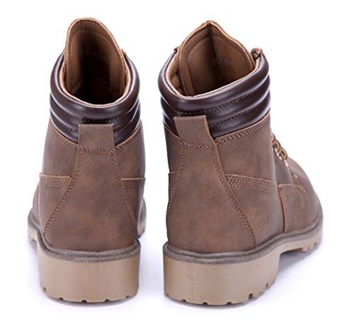 3 Schuhtempel24 Schuhe Stiefel Damen Blockabsatz Boots Stiefeletten thQrxdsC
