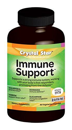 Crystal Star Immune Support, 60 Vegetarian capsules ()