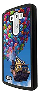 Cool Funky UP Flying house with balloon 38 Design LG G3 Fashion Trend Cool Case Back Cover Plastic/Metal