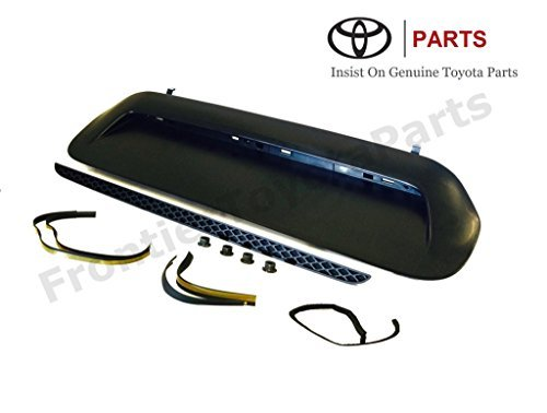 Genuine Toyota Tacoma Hood Scoop Insert Kit 76181-35902. Un-Painted. 2012-2015 Tacoma.