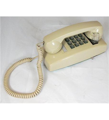 ITT 2554-V-IV 255409-VBA-20M Wall with Volume IVORY - Mini Corded Telephone