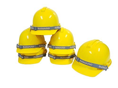 Prasertsteel Safety Helmet S-GUARD 6-point nylon suspension ( Yellow ) - 6 - Rogue Eyewear