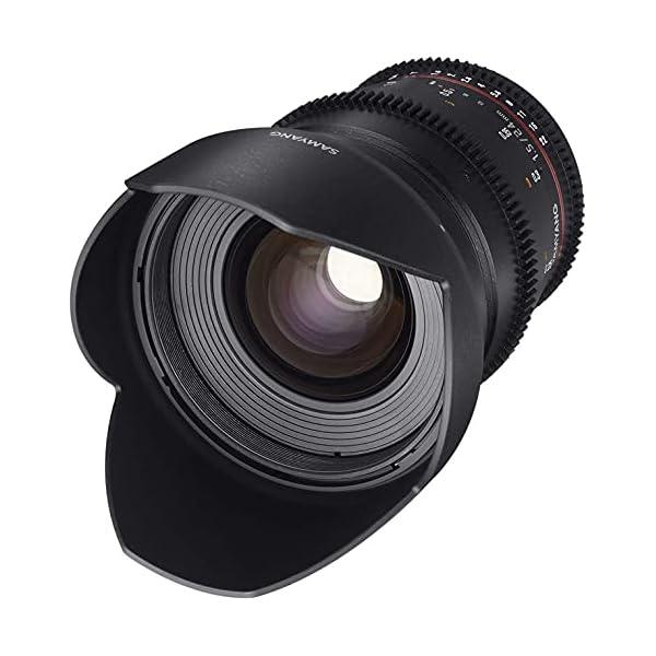 RetinaPix Samyang Brand Photography MF Lens 24MM T1.5 VDSLR II Sony E