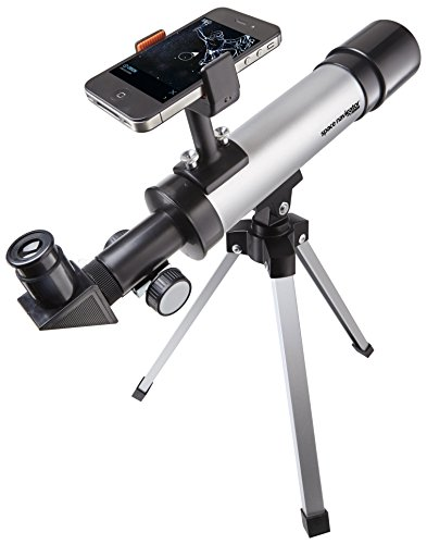 021276050209 - Space Navigator App-Enhanced Star Finding Spotting Scope - Powered by SkyView, Silver/Black carousel main 0