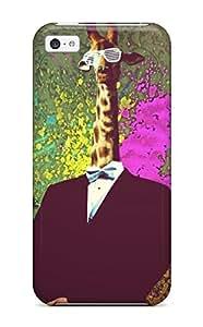 Brand New 5c Defender Case For Iphone (cool Giraffe)