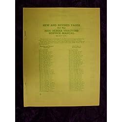 John Deere 8000 Series OEM Service Manual OId Vers