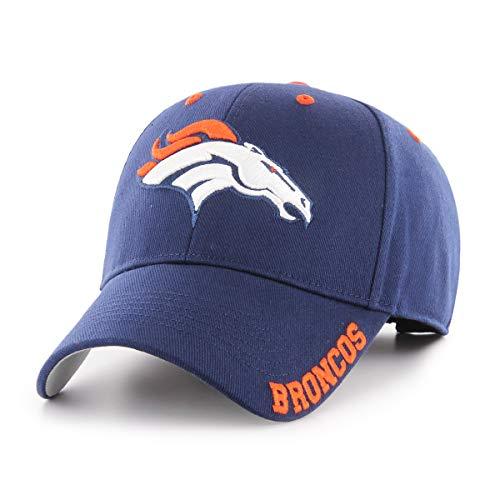 NFL Denver Broncos Blight OTS All-Star Adjustable Hat, Light Navy, One Size -