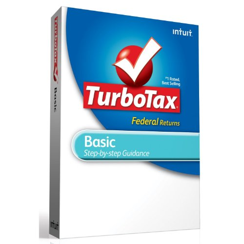 Intuit TurboTax Basic Federal + E-File 2012 [Old Version]
