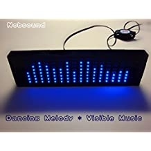 Nobsound® Music Spectrum Audio Spectrum LED Level Meter Display for Audio System (Desktop Version)