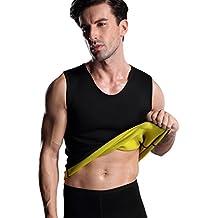 23f1d5a8ec7 ValentinA Mens Hot Sweat Body Shaper Vest Tummy Fat Burner Slimming Sauna  Tank Top Weight Loss