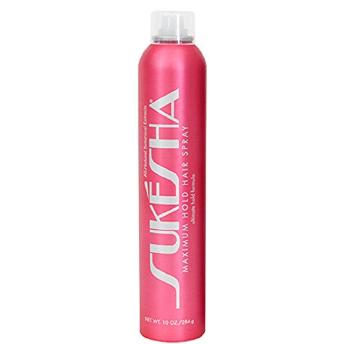 Sukesha Maximum Hold Hair Spray 10 oz ()
