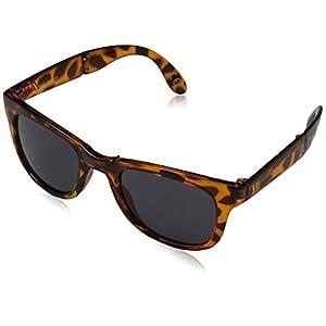 Vans Foldable Spicoli Shades Sunglasses, Translucent Honey Tortoise