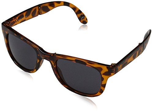 Vans Foldable Spicoli Shades Sunglasses, Translucent Honey - Sunglass Vans