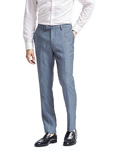 - Banana Republic Slim Solid Linen Suit Trouser (35W 30L)