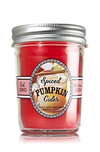 - Bath & Body Works Spiced Pumpkin Cider Mason Jar Candle