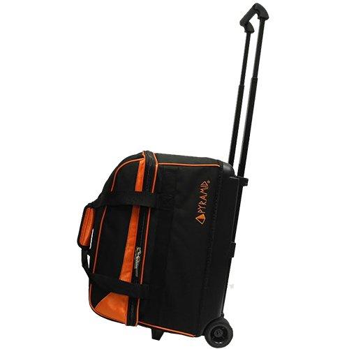Pyramid Prime Double Roller Bowling Bag (Orange)