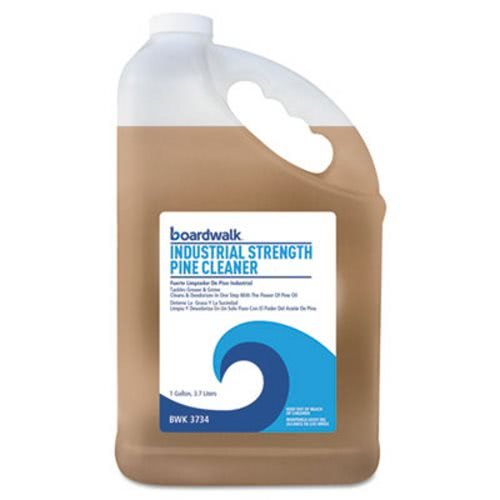 Boardwalk 3734EA Industrial Strength Pine Cleaner, 1 gal Bottle