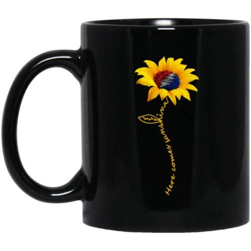 Grateful Dead Here Comes Sunshine Black Mug-11OZ Coffee Mug