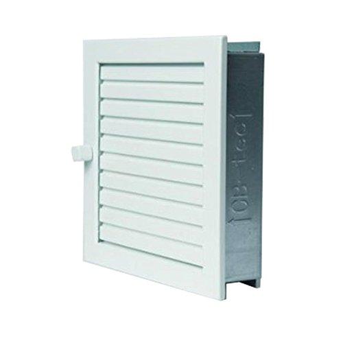 Rejilla de aire caliente (45 x 15 blanco rejilla de ventilación ...
