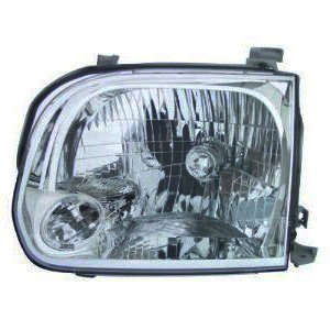 OE Replacement Toyota Sequoia/Tundra Passenger Side Headlight Assembly Composite (Partslink Number TO2503158)
