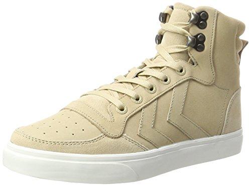 Hommel Unisex Volwassen Stadil Winter Een Hoge Sneaker Beige (nomade)