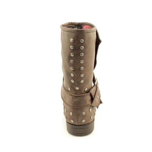 Materiaal Meisjesleer Dames Cognac Mode - Mid-calf Laarzen Us10