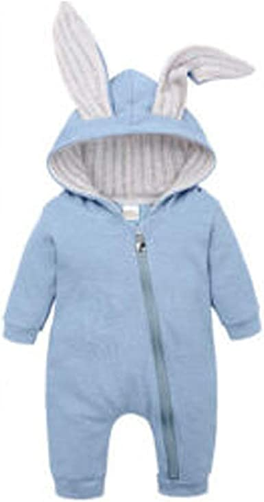 Baby Rompers Clothes Bunny Rabbit Knitted New Born Boys Girls Jumpsuits One Piec