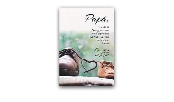 Amazon.com: Tarjeta ¡Gracias por ser mi Papá!, Salmos 1:2-3 ...