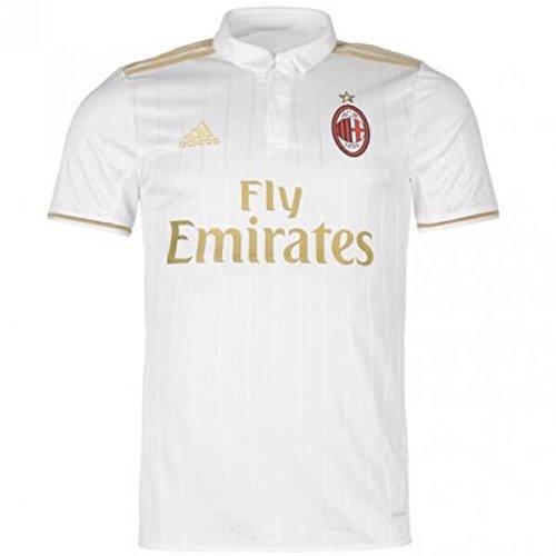 Ac Milan Football Shirts - adidas AC Milan Kids Away Football Shirt 2016/17-9-10 Years