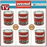 Wenol Metal Polish Case of 6 1000 ml Cans
