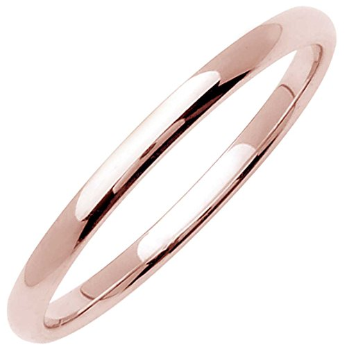 18K Rose Gold Traditional Clas