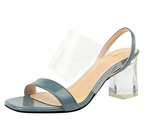 Sandales pour Bleu Miyoopark DS169 Femme MiyooparkUK 5 xpwttvqCU