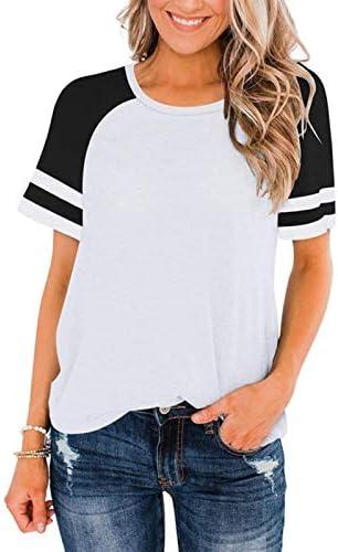 WALEI Spring and Summer Short-Sleeved T-Shirt Women