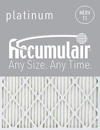 accumulair Platinum 1 Merv 11 Air Filter/Ofen Filter (6 Stück), 886566137332