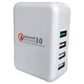 Perfectii Xy-4 Qc30-4U USB Cargador De Teléfono Móvil De ...