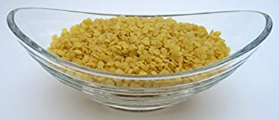 Yellow Beeswax Bees Wax Organic by H&B OILS CENTER Pastilles Beads Premium Prime Grade A 100% Pure 16 oz, 1 LB from H&B Oils Center Co.