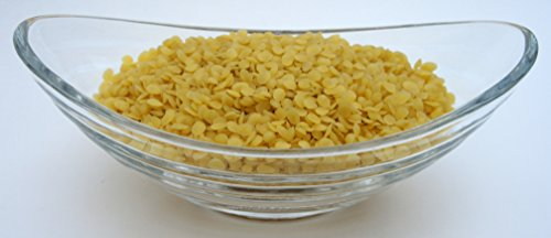 Yellow Beeswax Bees Wax Organic Pastilles Beads Premium Prime Grade A 100% Pure 8 LB by H&B Oils Center Co. (Image #1)
