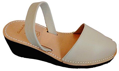 Platform Menorca cm Sandals with Wedge Box Avarcas 8 Menorcan Leather Menorquin Abarcas of Natural Menorquinas Avarcas 4 IrrqFwHW